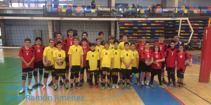 EL CLUB DE VOLEY JRJ YA COMPITE A NIVEL REGIONAL
