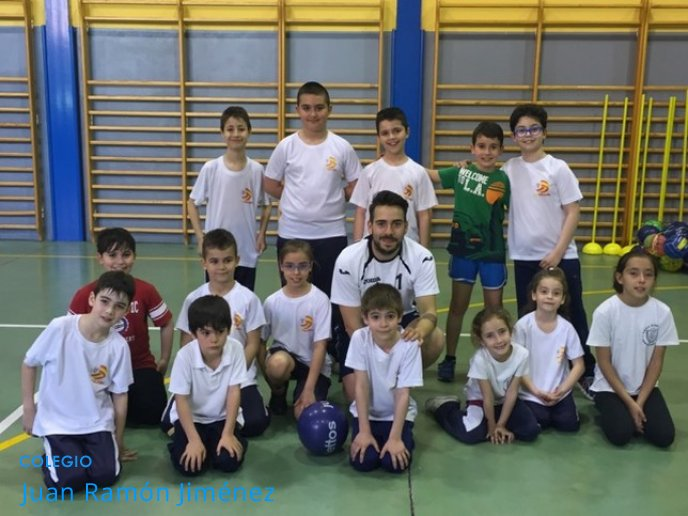 El Club Voley Juan Ramón Jiménez clausuró la temporada